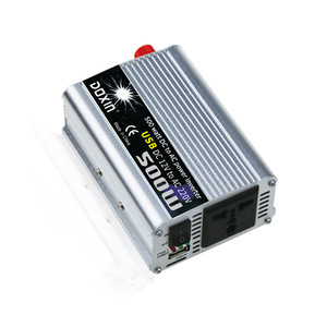 Image 2 - 500 W רכב מהפך 12 V כדי 220 V כוח מהפך 12 v 220 v מהפך ממיר נייד ספק כוח USB מטען