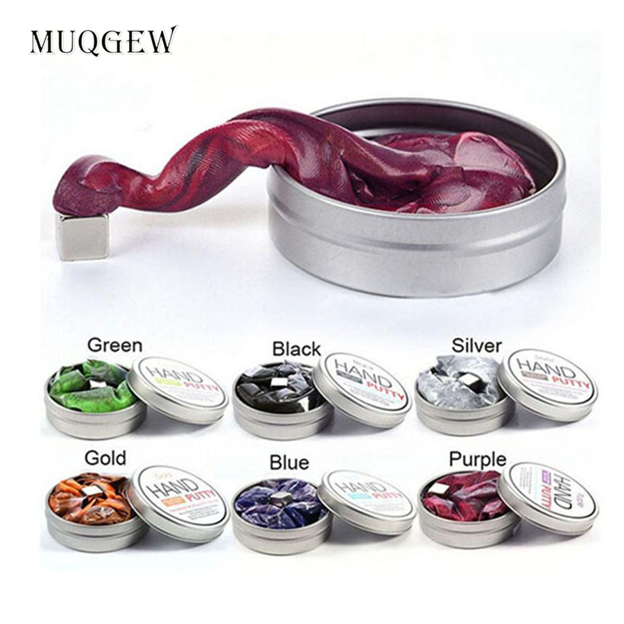MUQGEW Modeling tools Christmas Gift Decompression Toys Super Magnetic Fimo Polymer Clay Therapy New Kid Toy Children Toys