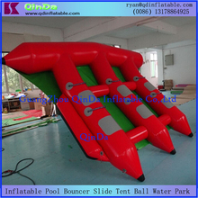 New style inflatable sea fly fish for water sports inflatable boat for sale