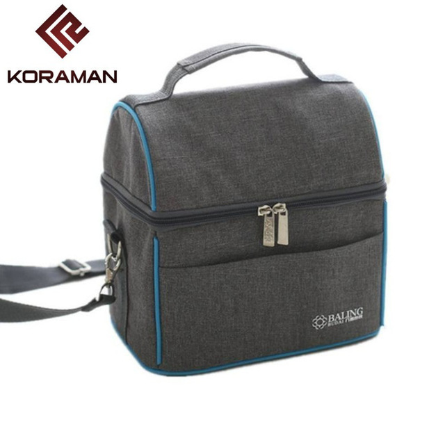 Koraman Brand Outdoor Travel Camping Refrigerated Hot Lunch Box Fresh Drinks Food Storage Picnic Bags Freezer In From Sports