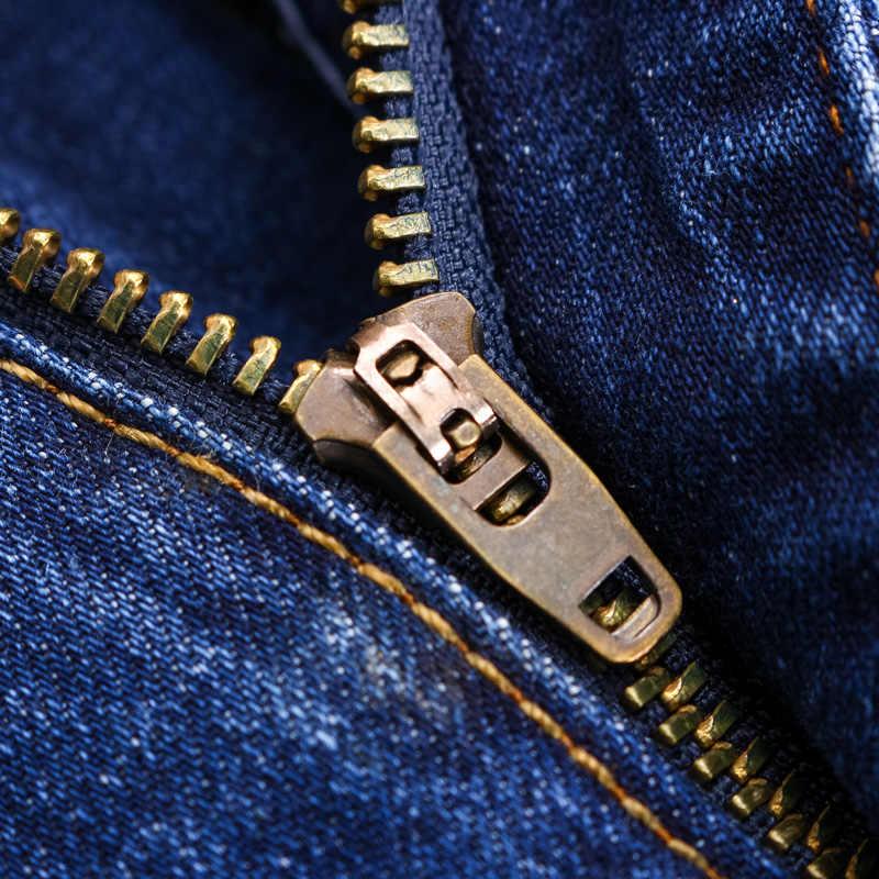 2019 季節スタイル男性カジュアルジーンズスリムストレート弾性薄ジーンズ新ファッションルースウエスト長ズボンドロップシッピング