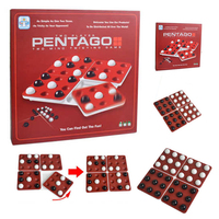 2 Players Night Bar Chess Pentago Board Game Family Party Bar Contest Game Chesses Hot In