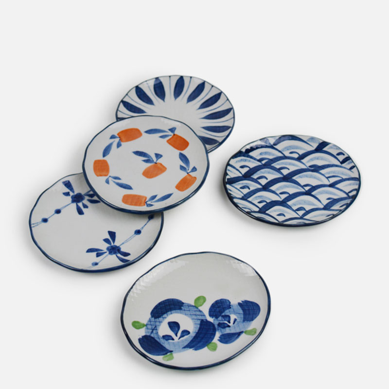 5.5u0027u0027 Japanese ceramic HENGFENG design dish small saucer dinner plate -in Dishes u0026 Plates from Home u0026 Garden on Aliexpress.com | Alibaba Group  sc 1 st  AliExpress.com & 5.5u0027u0027 Japanese ceramic HENGFENG design dish small saucer dinner ...