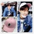 K-pop Cap BTS Bangtan Meninos Jhope Bonito Chapéu de Beisebol Cap Viseira Costume Play Cap Gorras Hip Hop Homens Mulheres Chapéu de Basebol Casuais rosa