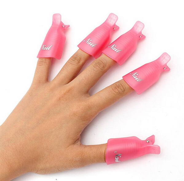 Prego acrílico Wearable Polish removedores mergulhe Soakers Cap Art Gel UV ferramenta