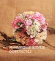 New 2017 Cheap Wedding/Bridesmaid Bridal Bouquet Romantic Beautiful Colorful Handmade Artificial Bouquets bouquet de mariage
