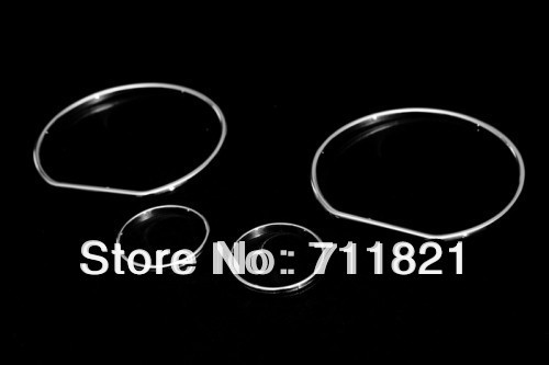 US $12 44 33% OFF|Car Styling Chrome Dashboard Gauge Ring Set For  Volkswagen For VW Golf MK3-in Chromium Styling from Automobiles &  Motorcycles on