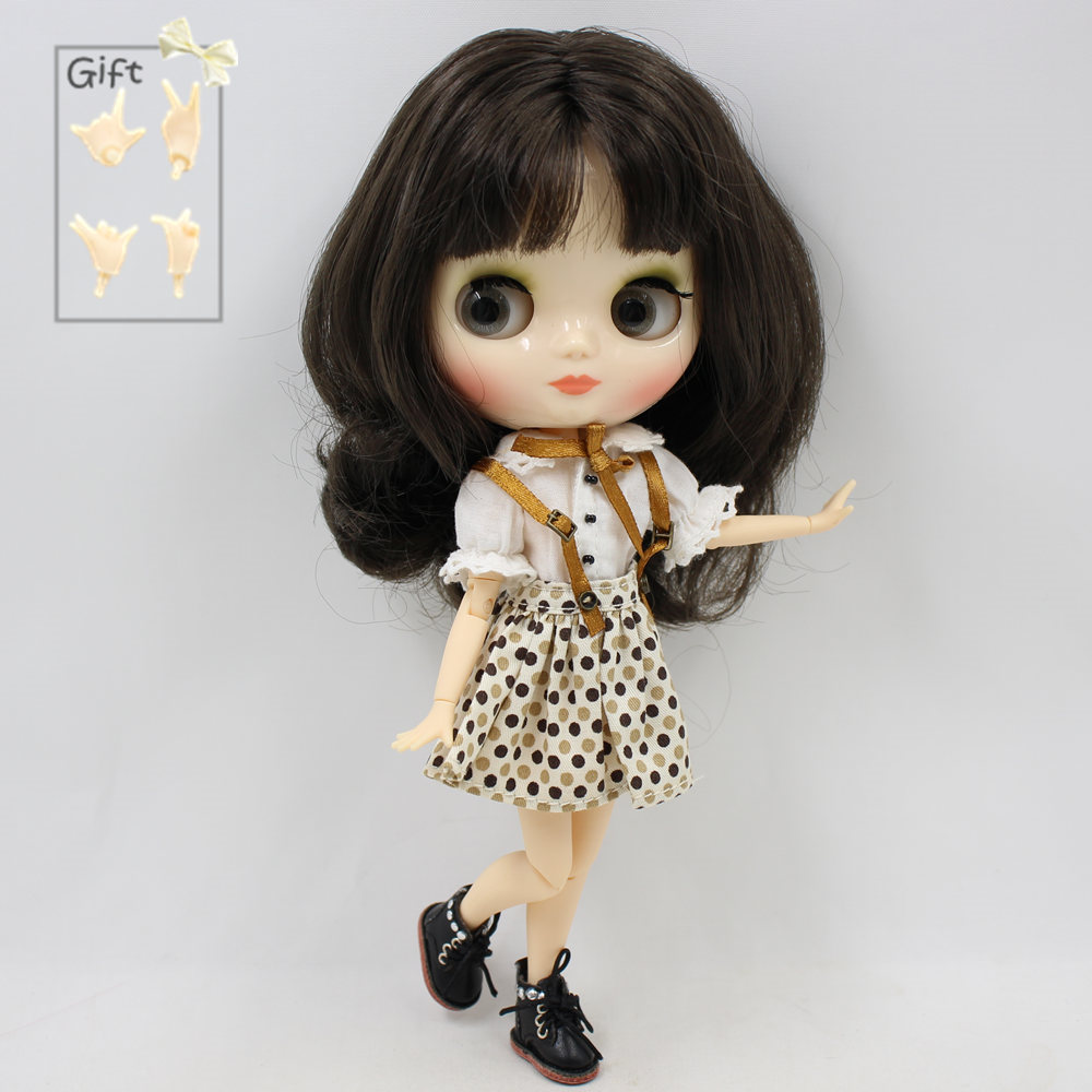 Nude Factory Middie Blyth doll Series No BL950 Black hair with bangs White face Neo