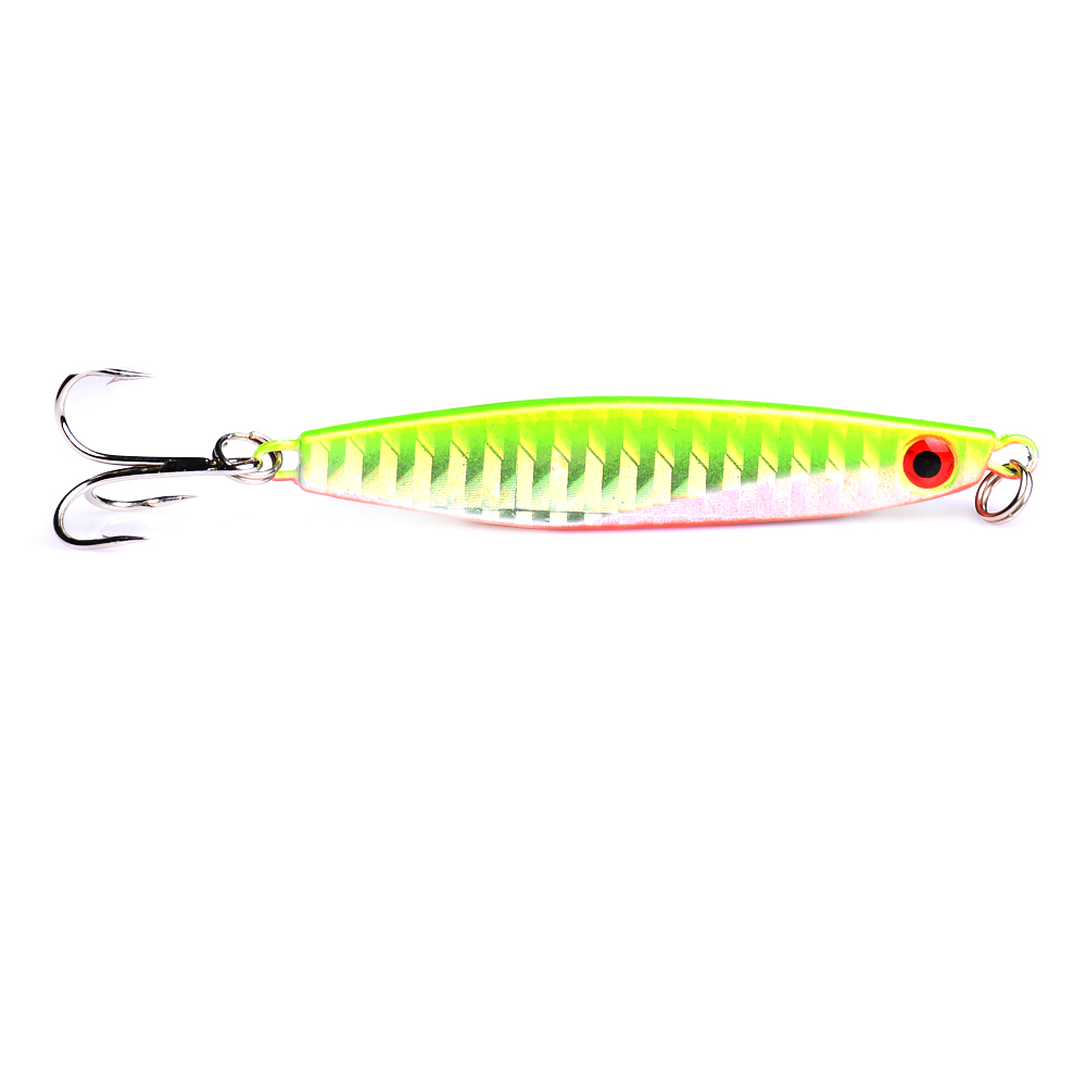YUZI 1pc 21g hard metal lead fishing lures sea sinking jig vib fishing baits artificial lures pesca fishing tackles in Fishing Lures from Sports Entertainment