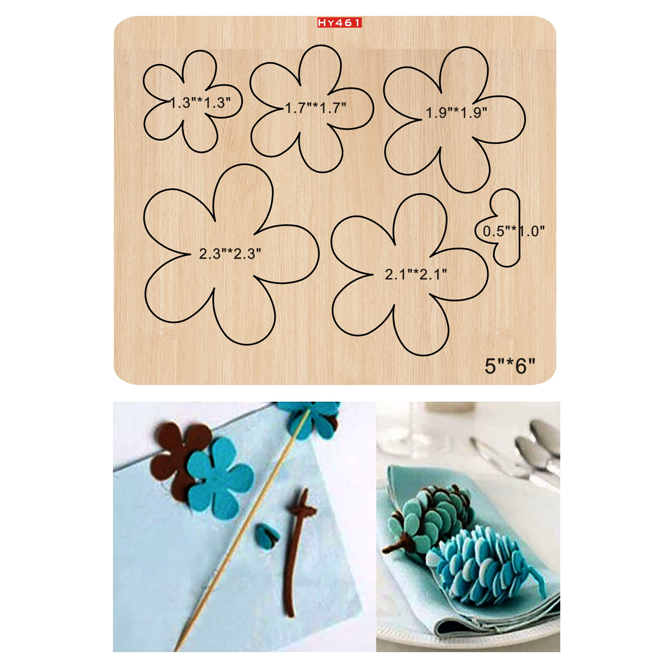 Flower Cutting Dies 2019 New Die Cut &wooden Dies Suitable For Common Die Cutting Machines On The Market