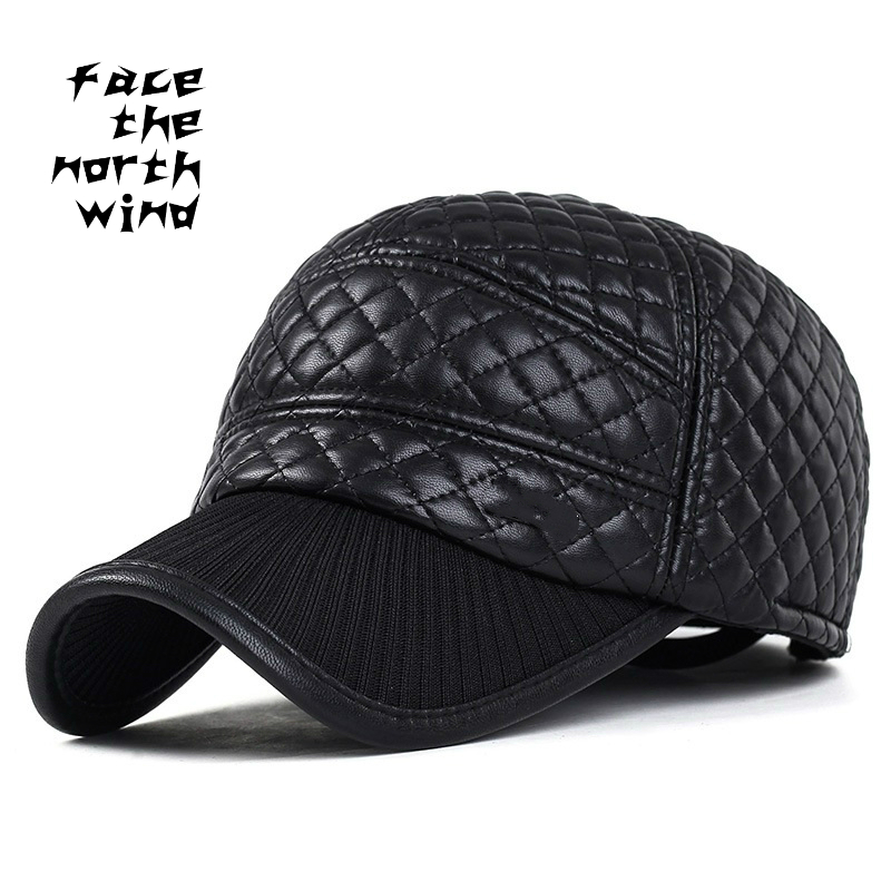 Leather cap Autumn and winter Man Cap fashion outdoors motion Baseball cap Leisure time Keep warm Ear cap optimal and efficient motion planning of redundant robot manipulators