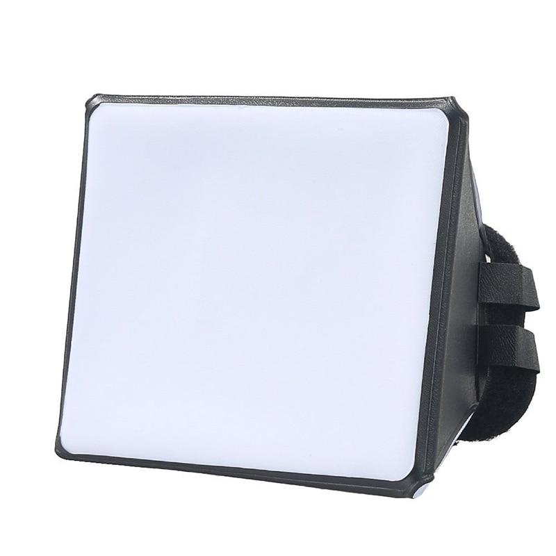 Foleto Flash Diffuser Softbox Camera Photo Soft Box Universal Foldable For Canon 580EX 550Ex 540EZ 430EZ 420EZ 430EX 420EX