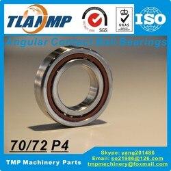 7214C 7214AC DB/DF/DT/SUL P4 skośne kulkowe kontaktowe łożyska (70x125x24mm) TLANMP wysokiej prędkości wrzeciona łożyska