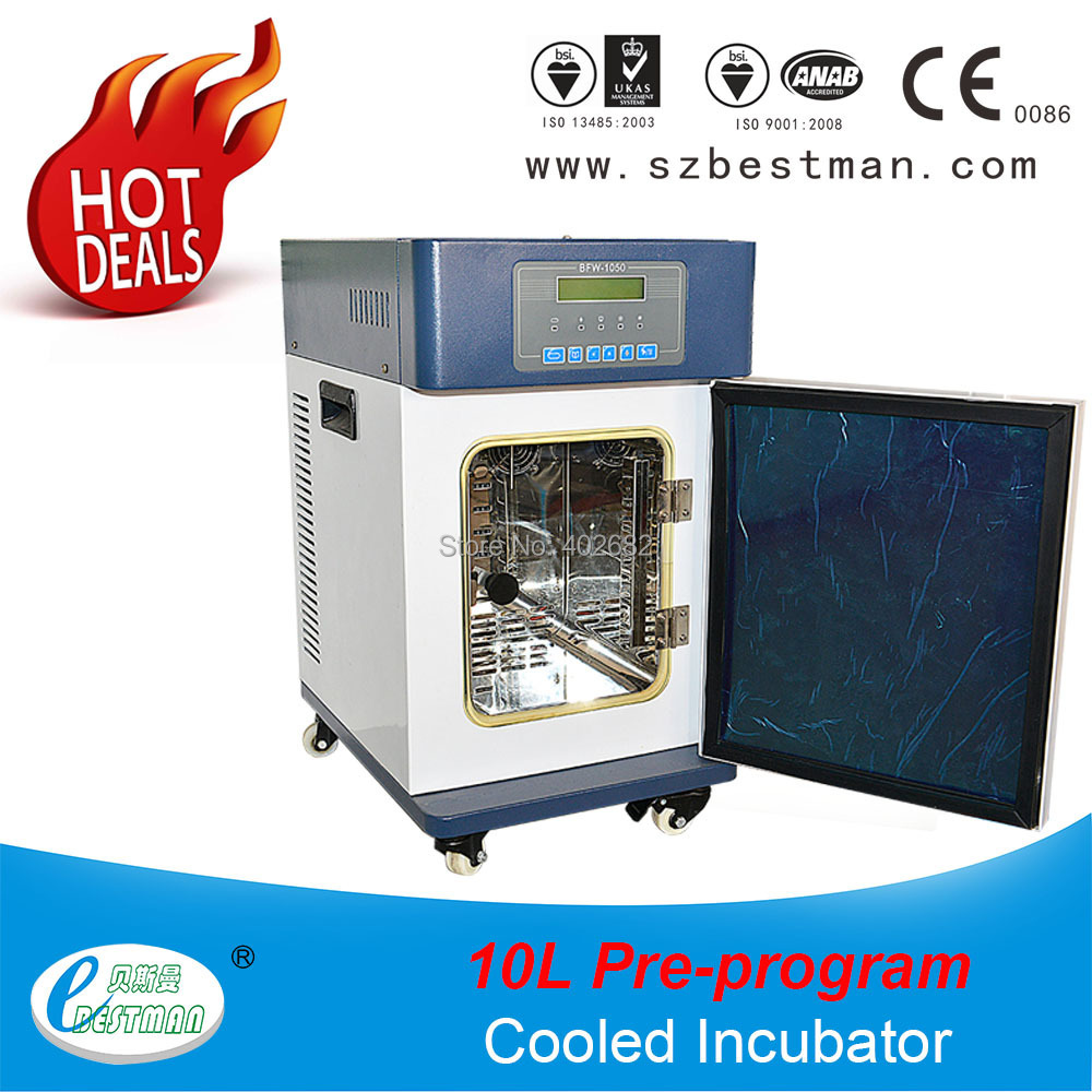 10L/h Lab heating and cooling incubator Medical liquid warmer Cool and Warm Incubator with LED displat temperature BFW1050 novel and ancient technologies for heating and cooling buildings