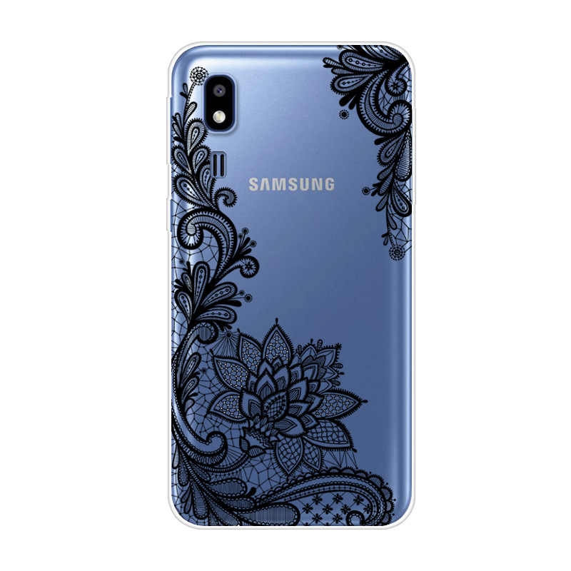 5.0'' For Samsung Galaxy A2 Core Case 2019 Silicone Soft TPU A260F Phone Case For Samsung A 2 Core A2Core Back Cover Cat Thin