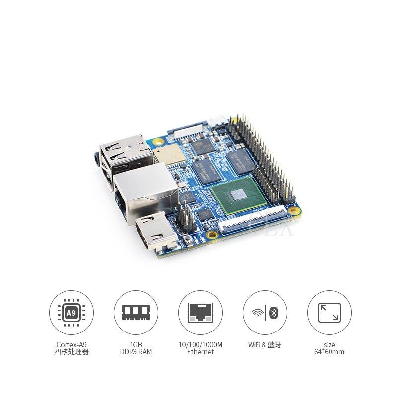 NanoPI-M2 M2A Block 4418 Development Board Gigabit Network APX228 Power Supply Free Shipping
