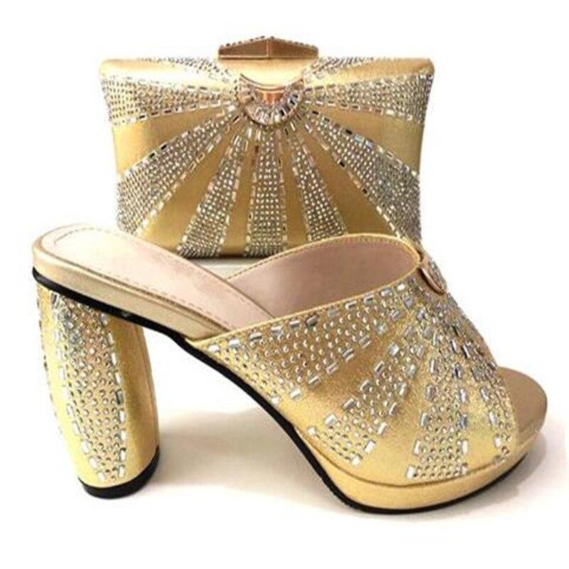 4a8e9ae8bbd962 Noir Populaire argent Pompes Pour 37 Chaussures Main Belles Talon or Et Avec  Lady Haute Taille pourpre rouge fuchsia 43 Sac Or Csb12 Ensemble ...