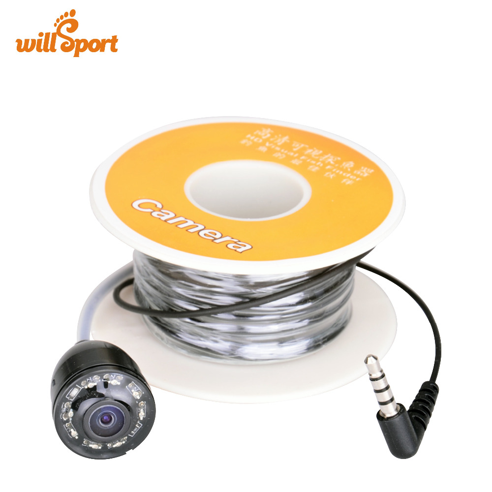 800TVL Underwater Fishing IR Camera 15m 30M Cable for Video Fish Finder Camera FF112 without Monitor