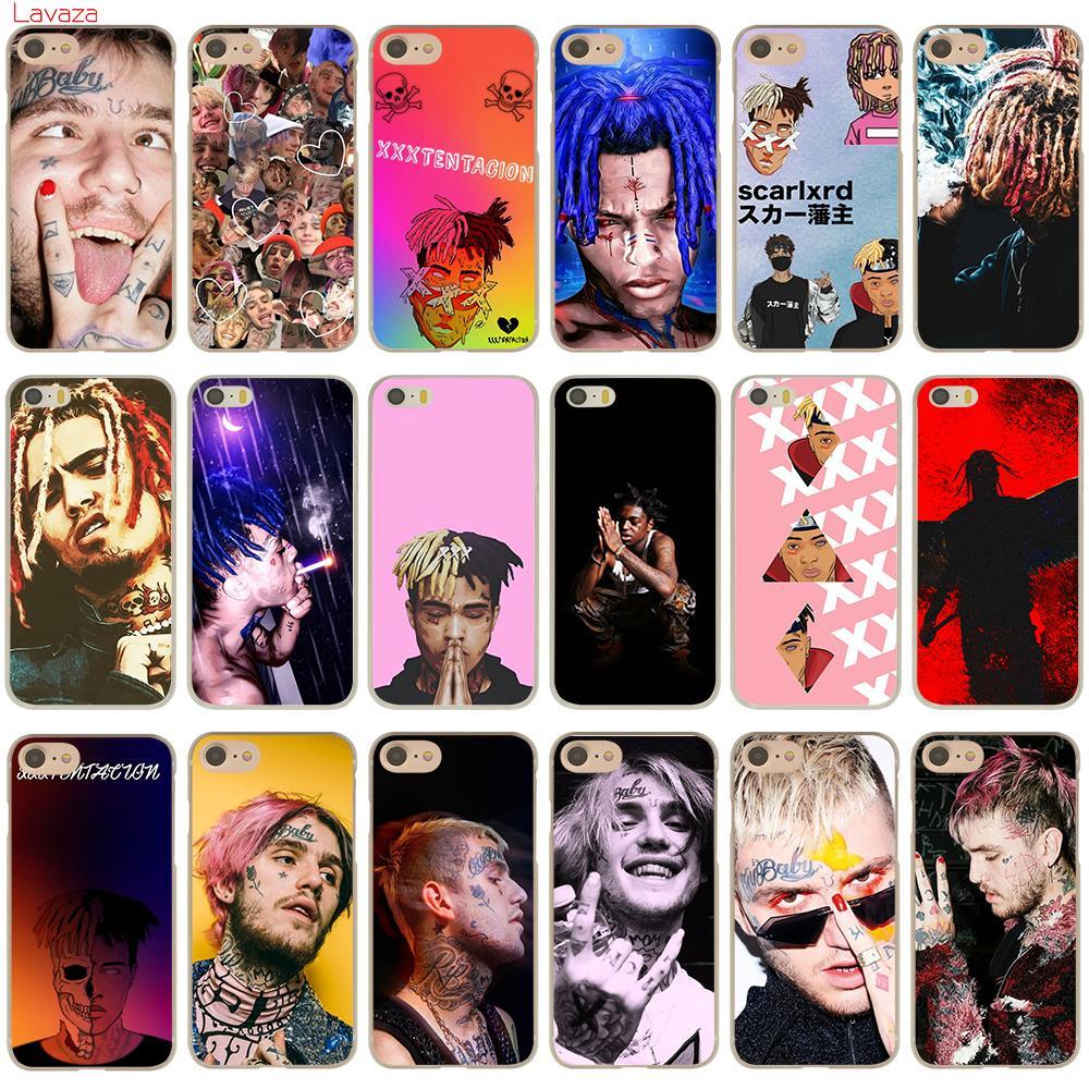 on sale e930a f6540 XXXTENTACION Lil Peep Lil Bo Peep Rap Singer Hard Apple Iphone 7 8 Plus 5S  5 SE 6 6S 7 8 X Case