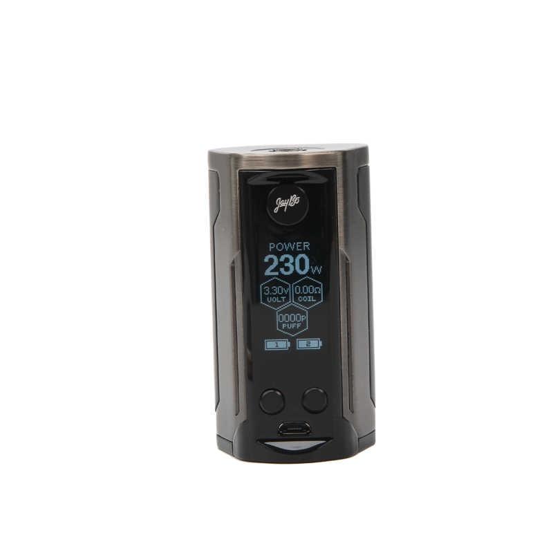 Wismec Рел RX GEN3 двойной мод Box 230 W Поддержка Wismec гном King rda-атомайзер RTA бак электронные сигареты mod сквонк vgod