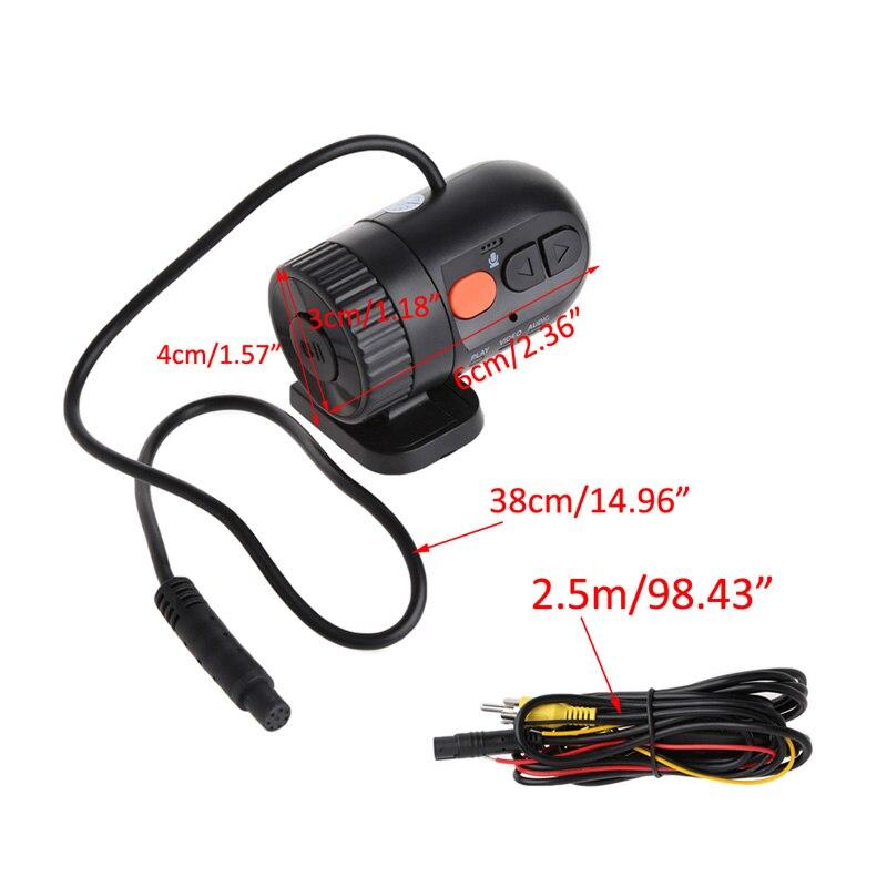 Novatek Car Mini Detector HD 720P 30FPS With 140 Degree Wide Angle Lens Car Camera car Driving Video Recorder Portable DVR