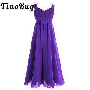 04b672c346e7 TiaoBug Flower Girls Dress Pageant Dresses for Wedding