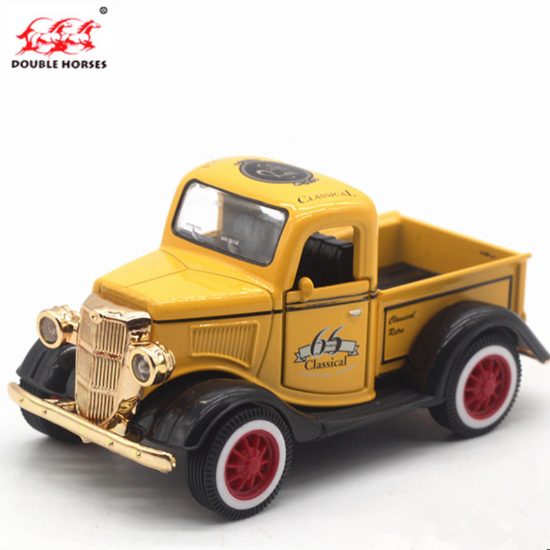 New High Simulation Exquisite Collection Toys Mini truck Car Styling Retro Pickup 1:36 Alloy Car Model Best Gift Collection Toys ...