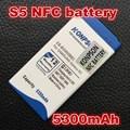 Eb-bg900bbe nfc nfc bateria de 5350 mah para samsung galaxy s5 gt i9600 sm-g900 i9605 sm-g900f com nfc