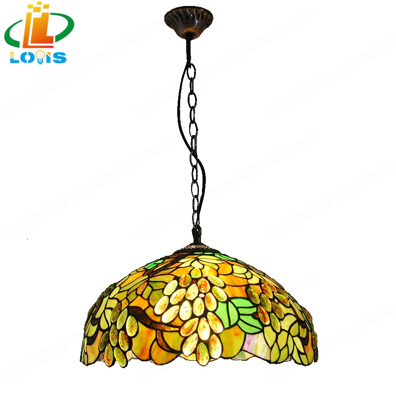 Delivery to 16 inches of European style green leaves big son of the son of the chandelier Tiffany personality table lamp antique applications of dendrimers in drug delivery