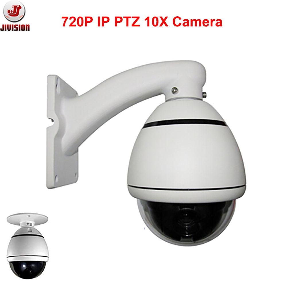 Фото HD 720P IP PTZ Camera 10X optical zoom mini PTZ Camera Onvif Mini High Speed Dome Camera PTZ pan tilt zoom Outdoor IP66 CCTV PTZ