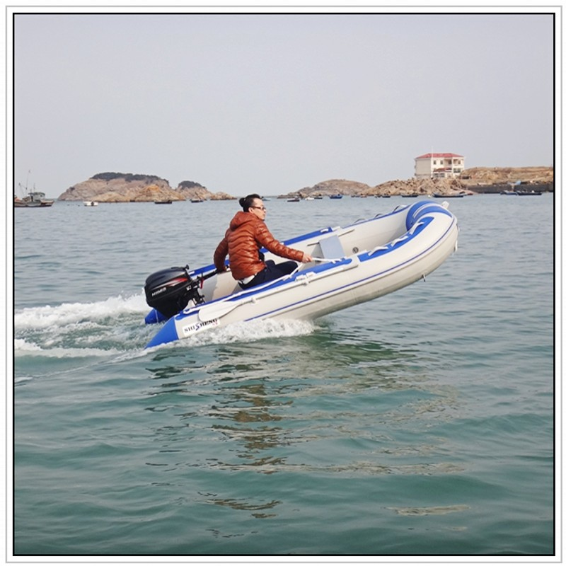 Pvc inflatable boat fishing boat rubber boat in rowing for Rubber boats for fishing