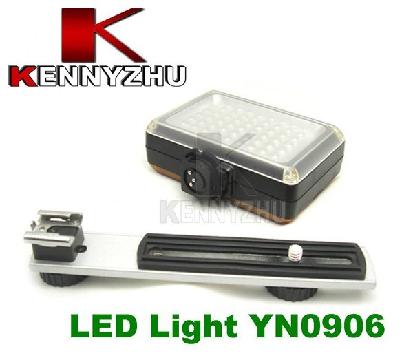 Pro Led  Vidieo Light Camera Lamp YONGNUO YN0906 54 LED for Canon Nikon SLR DSLR Video Camera Camcorder DV 5600K