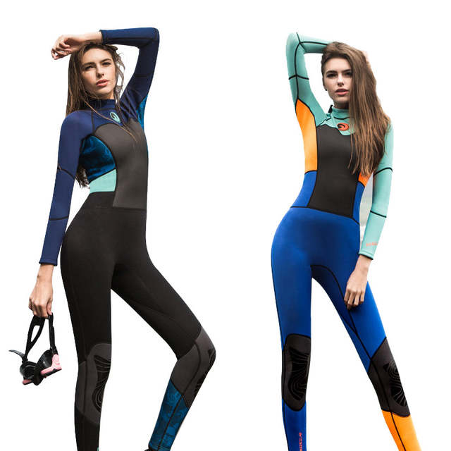 2f66d86bab5f Professional 1.5mm Women Wetsuit Full Body Scuba Diving Suit Keep Warm Surfing  Diving Wetsuits Breathable Diving Equipment-in Wetsuit from Sports ...