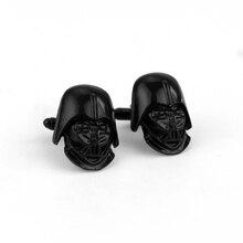 Engravable Darth Vader de Star Wars Gemelos Tie Bar Broche Clip De Alta calidad de Los Hombres Camisa de La Boda Accesorio de La Joyería Declaración