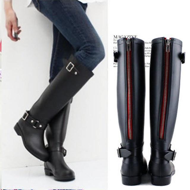 Aliexpress.com : Buy Women comfortable rain boots gumboots ...
