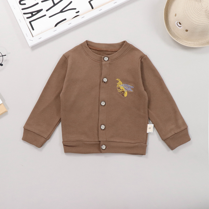 Autumn Baby Boy Clothes 3pcs Kids Clothes for Girl Long Sleeve Letters T shirt Animal Print Sweatshirt Coat Pants Casual Outfits in Clothing Sets from Mother Kids