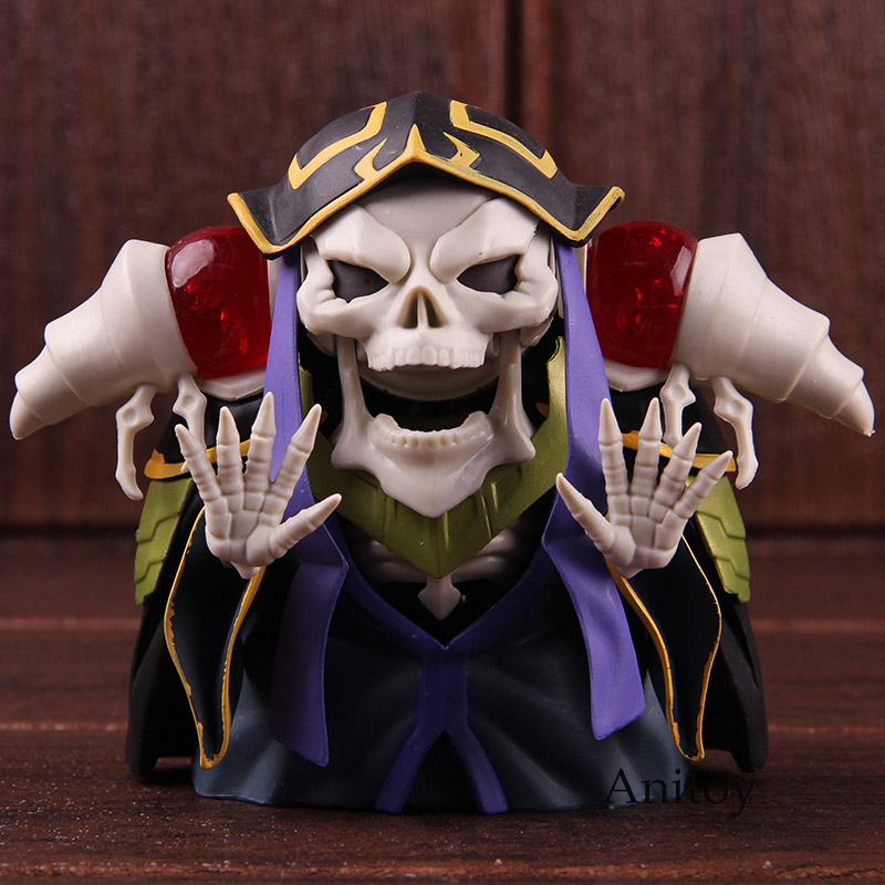Ainz Ooal Gown Nendoroid 631 10th Anniversary PVC Good Smile Company Nendoroid Action Figure Collectible Model Toy 1