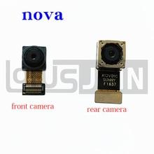 Оригинальная основная и маленькая фронтальная камера, гибкий кабель, лента для Huawei Nova, CAN L01, CAN L02, CAN L03, L12, L13, для Huawei Nova, 5, 8, 9, 9, 9, 9, 9, 9, 9, 9, 9, 9, 9, 9, 9, 9, 9, 9, 9, 10