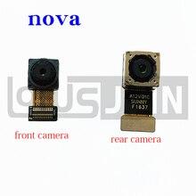 Originale Posteriore Principale Posteriore Big & Small Fotocamera Frontale Flex Cable Ribbon Per Huawei Nova CAN L01 CAN L02 CAN L03 CAN L11 L12 l13