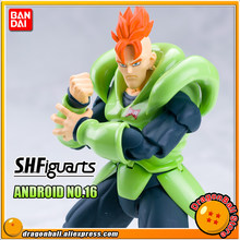 DRAGONBALL Dragon Ball Z/Kai Original BANDAI Tamashii Nations S. H. Figuarts/SHF Exclusivo Action Figure-Android No. 16(China)