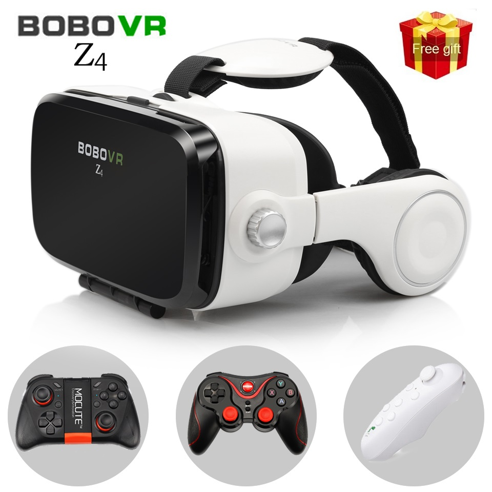 Hot Cardboard BOBOVR Z4 Virtual Reality Glasses VR 360 Degree 3D Viewing Immersive Experience 3D Glasses 4.7''-6.2'' Smartphone