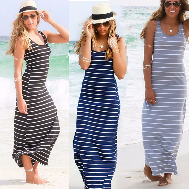 Summer Cotton Tank Dresses