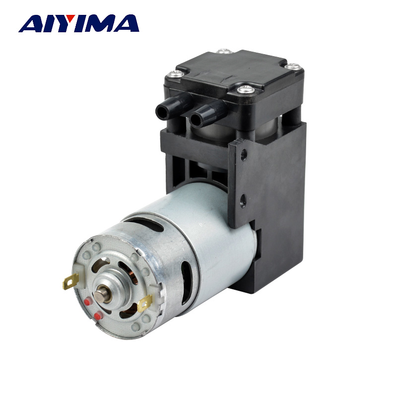 Aiyima DC12V vacuum pump negative pressure suction absorption pump piston pump 42L min 85kpa