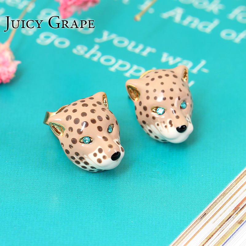 european fashion enamel ornament cute party jewelry prevent allergy