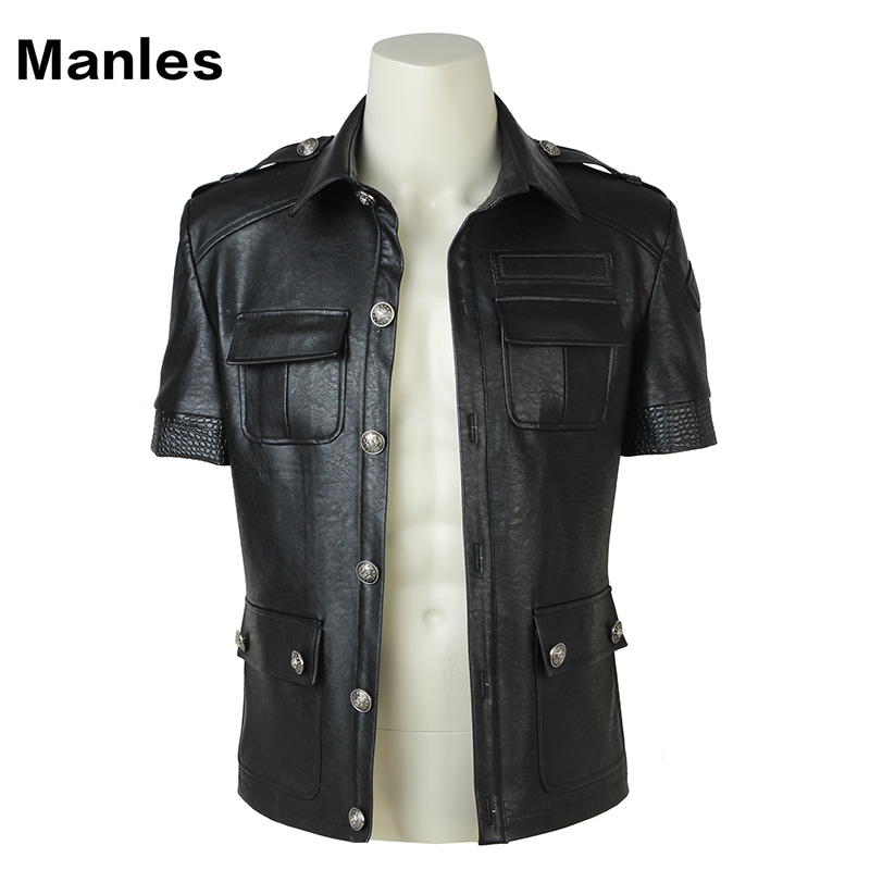 Gladiolus Amicitia Cosplay Jacket Final Fantasy XV Costume Game Uniform Black Coat Halloween Carnival Jacket Adult Men Customize