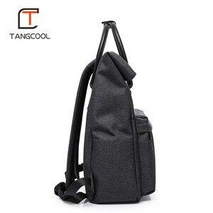 Image 2 - Мужской многофункциональный рюкзак для ноутбука 15 дюймов с USB зарядкой