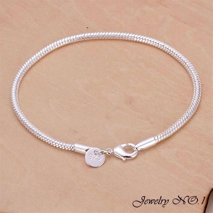 Bracelet Plated Silver Bracelet Fashion Jewelry For Men Women ...
