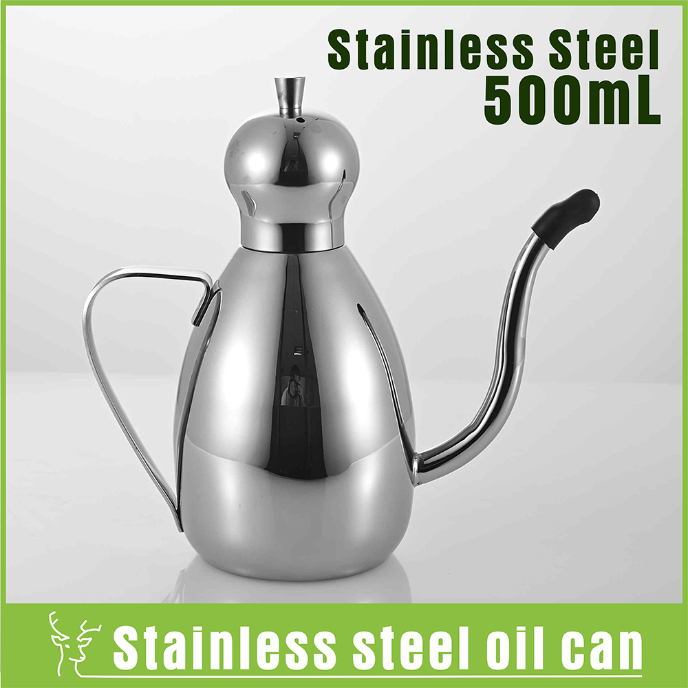 Aliexpress.com : Buy 0.5L Stainless Steel Kitchen Oil Pot Oil .