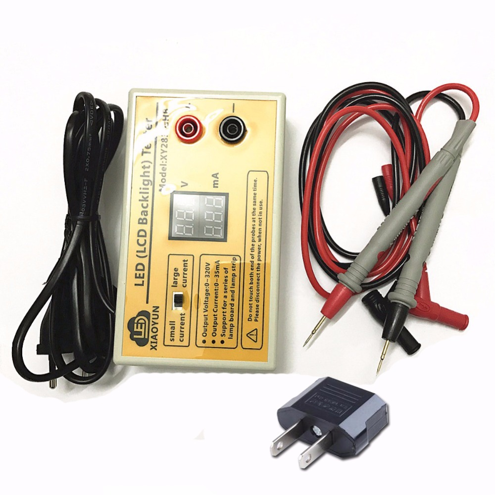 0-320V Smart-Fit with Current and Voltage Display test LED Backlight Tester Tool for All Size LED LCD TV Laptop Free Shipping цена
