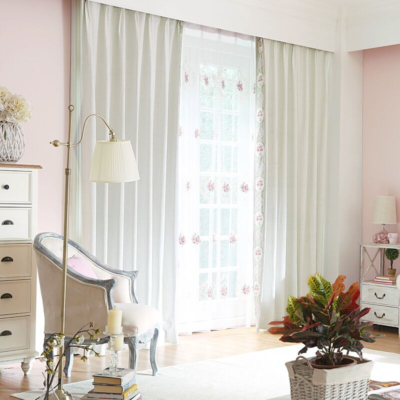 Two Colors Light blocking Noise Reducing Curtain Modern  Style - Home Textile - Photo 3